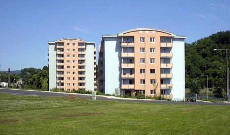 Bytové domy na Bukově v Baráčnické ul.  (Zdeněk Šťastný)