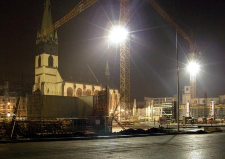 průběh stavby - listopad 2008