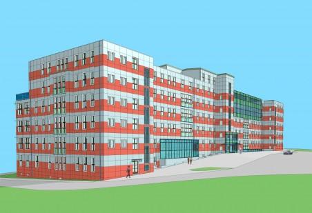přestavba pavilonu B pro potřeby FUUD - architektonický návrh a prováděcí projekt: firma Reconstruction s.r.o. (dnes Recon Bohemia a.s.), nejspíše Ing. O. Sedlář, 2006