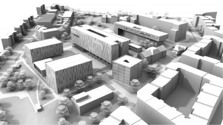 urbanisticko-architektonická studie firmy SIAL architekti a inženýři, 2009