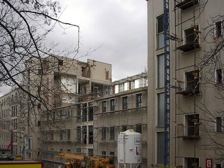 Kampus - přestavba bývalé Masarykovy nemocnice (Archprojekt, Reconstruction, SIAL)