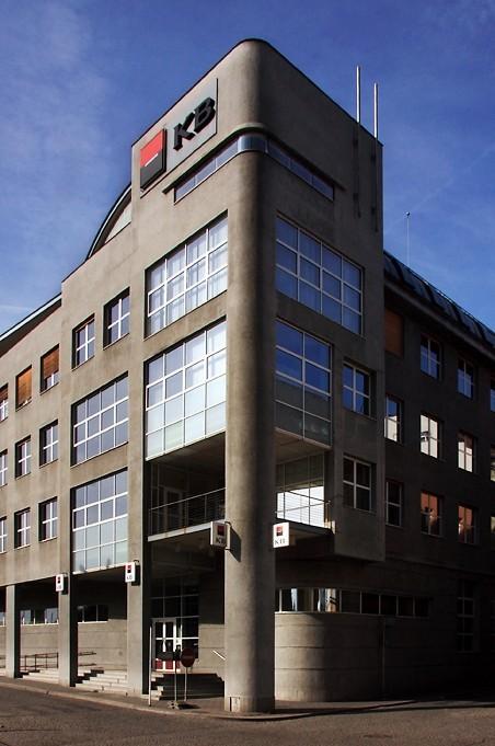 Nová budova Komerční banky (Vladimír Novák)