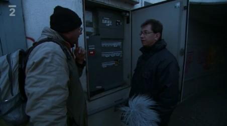 záběr z dokumentu České televize Most nad Ústím nad Labem, pořad proStory, režie: K. Žalud