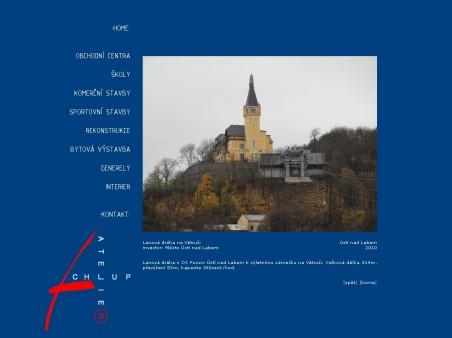 prezentace stavby Lanová dráha na Větruši na webu Atelieru Chlup - zdroj: http://www.atelierchlup.cz/data/sport/pics/lan3.html