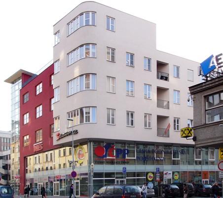 Palác Jordán - Atelier AP (Zdeněk Havlík, Luboš Hruška)