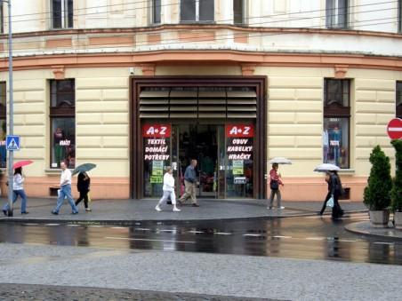 Parter domu bývalé České obchodní společnosti po přestavbě - foto: Matěj Páral 09/2012